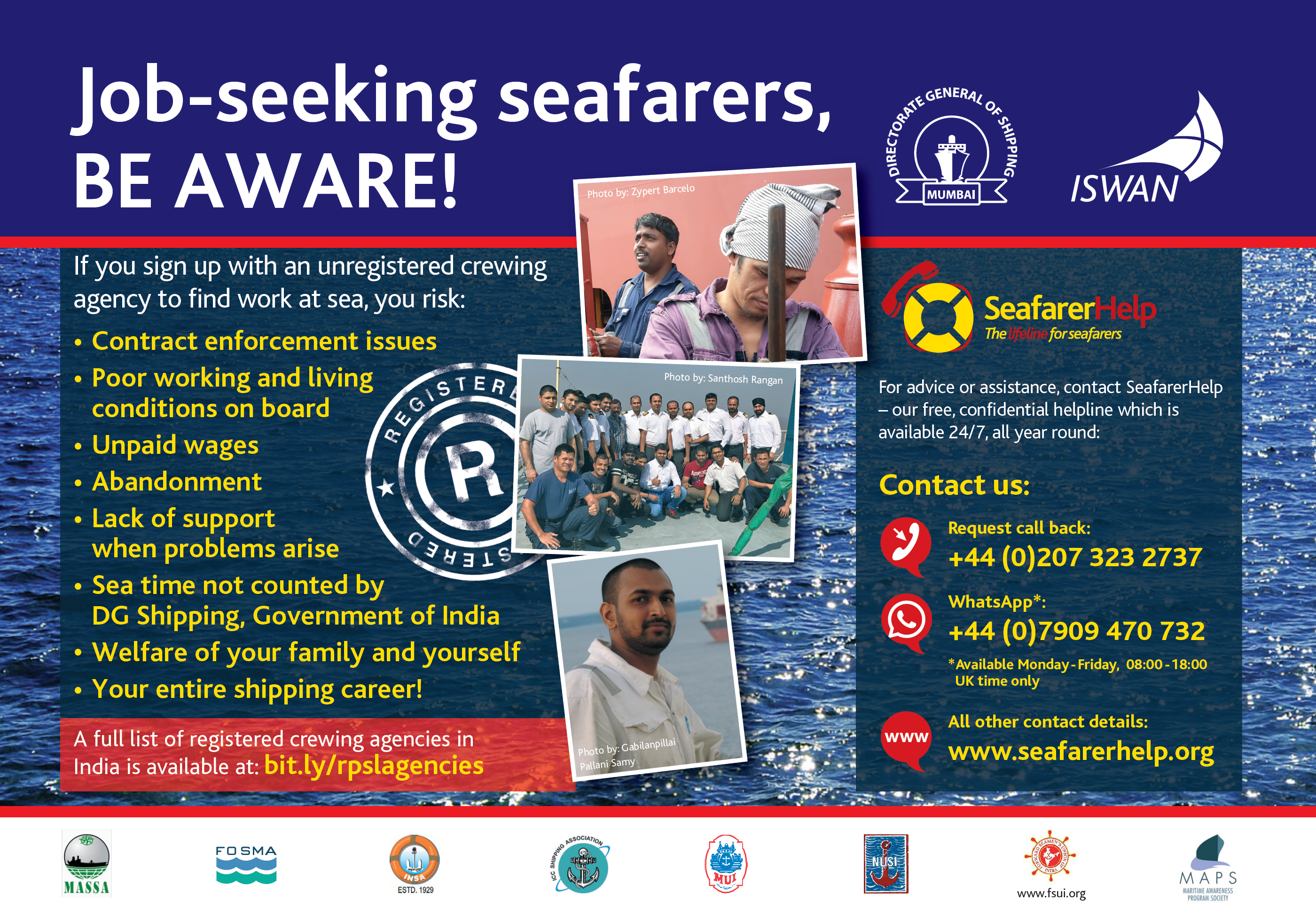 Seeking employment | SeafarerHelp